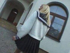 FUCK Out Of School Girls Blonde! Czech Republic