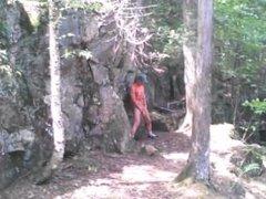 Forest voyeur jerking off #12