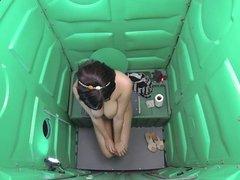 Porta Gloryhole Thick teen swallows loads of