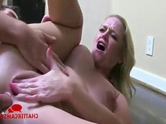 Hardcore Anal Threesome Massive Squirting
