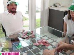 Poker Night Daughter Swap Pt.1