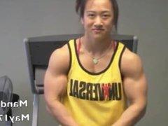 Amanda Lau - hot female asian muscle compilation