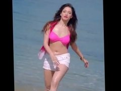 Bollywood actress Tamanna hot navel show