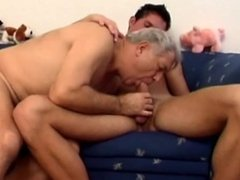 Silver daddy with younger