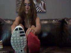 Cute Girl Cute Feet