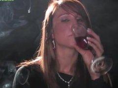 Hayley smoking fetish