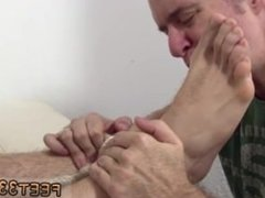 Free gay boy feet and thug gay black sucking feet KC Captured, Bound &