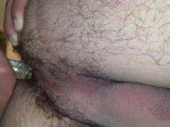 Dildo in the ass
