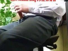 Blows Her Boss Under The Desk
