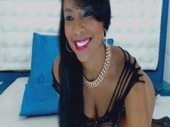 sexy ebony in black lingerie teases on webcam prt 2 omegle
