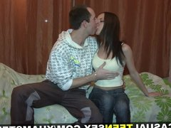 Casual Teen Sex - Best teen tits in the world