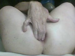 A SISSY'S FIST FUCKED GAPING ASS