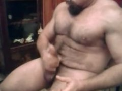Thick Dick Muscle Daddy Jerks Off & Cum