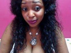 lindsey busty ebony webcam dildo titfuck omegle