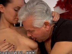Old french granny anal first time Clair is having dance lessons from