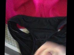 Sports bra and panties