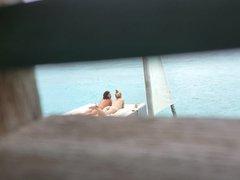 voyeur 2 lesbian girls caress their body on holidays naked