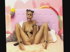 deepthroat gagging and fisting on cam