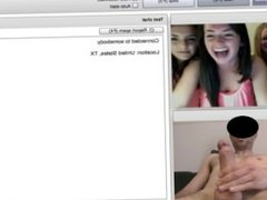 teen girls watching guy cum on chatroulette