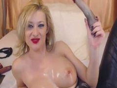 gr gagging and squirting on cam