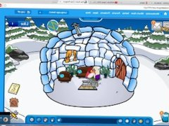 HOT CLUB PENGUIN THREESOME WITH FIGHT AND PUSSY MAGIC