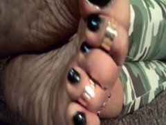 ole sexy moley wrinkled soles 1
