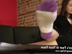 Morgan's Feet in Your Face - www.clips4sale.com/8983/15800158