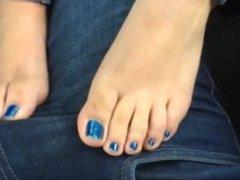Footjob / Frotadita con los pies