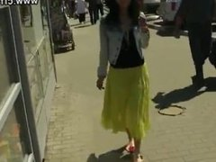 dirty feet in summer with long dress 2
