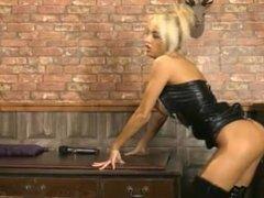 Kerrie Lee Cowan in PVC & Thigh bbots