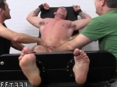 Gay kissing mens feet first time Trenton Ducati Bound & Tickle d