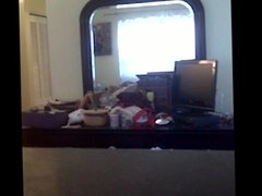 spy cam wife changing