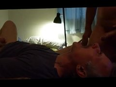 Guy wanted me to shoot all over his fucking face 3