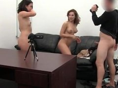 Margarita and Natasha Prove that Sharing is Caring for One Lucky Stud