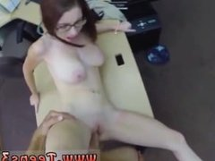Thirsty blowjob milf Jenny Gets Her Ass Pounded At The Pawn Shop