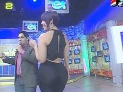 Ana Carolina big butt Dominican Hostess