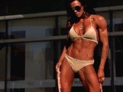 BE bikini muscles