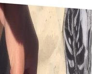 Wank on nude beach