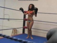 Nikki is your punching bag