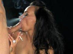 smoking fetish- Eva.M.pt.1.
