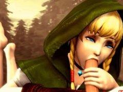 Linkle gets Fucked Hardcore by Monster COCK HMV (The Legend of Zelda)