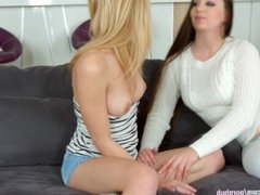 Welcum home by Sapphic Erotica - sensual erotic lesbian porn with Angelina