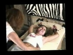 Girl tickled upper body by Renee