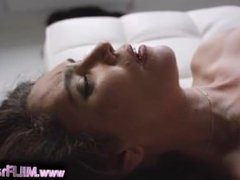 Mature Mom in Lingerie Seduces and Fucks a Young Boy