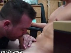 Straight man being sucked dry by gay and naked straight mates Guy