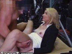 Tiny tits lesbian Hot Milf Banged At The PawnSHop