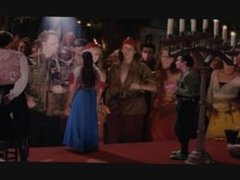 Heidi Klum GTS scenes from Ella Enchanted
