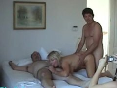 Mature Group Sex Video of Two Mature Couples Swapping Partners