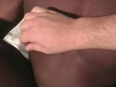 Black guy tape gagged