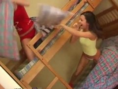 Teen puffy peach pussy first time Naughty sapphic roommates